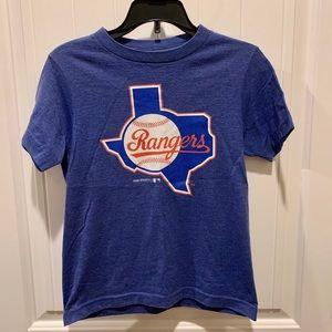 Gently Used Kids Texas Rangers Tee Shirt